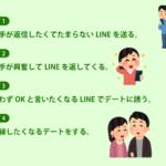 LINEを使った復縁ステップイメージ